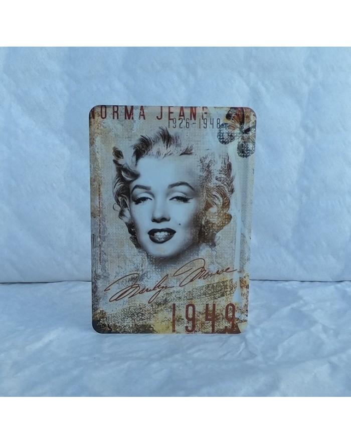 ref cpmman4 Carte postale Marilyn Manson