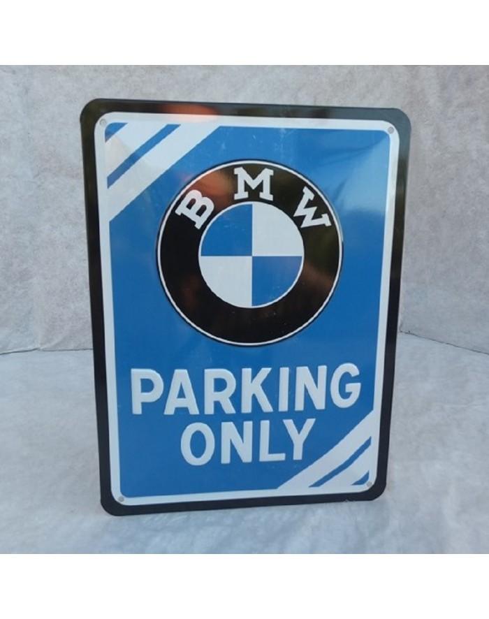 BMW PARKING ONLY BMW Garage Signe BMW Cadeau