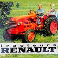 Renault tracteurs